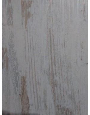 Vetrina stile shabby in Legno Massello Colorato