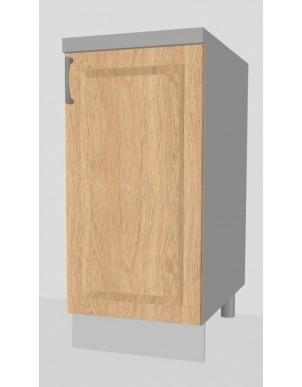 Base Anta Singola per Cucina in Nobilitato Laccato H80 X L40/50/60 X P60