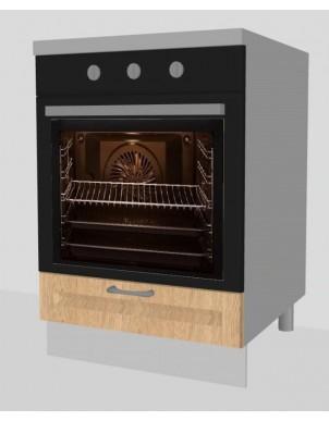 Base Forno per Cucina in Nobilitato Laccato H80 X L60 X P60