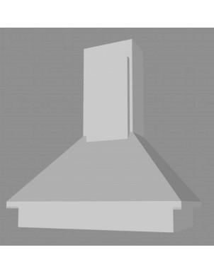 Cappa per Cucina in Nobilitato Laccato H90 X L60 X P60