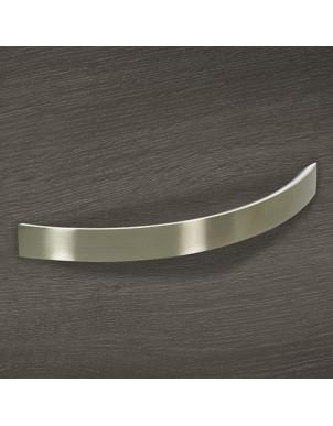 """Maniglia design """"Zora"""" ad arco passo 12,8 cm"""