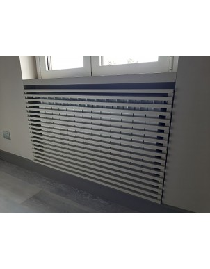 Fornitura su misura di Copritermosifoni aerazione personalizzati